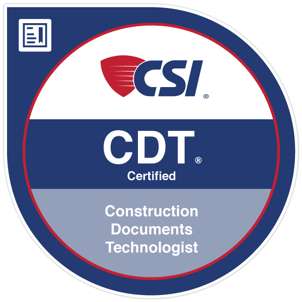 CSI CDT Certification